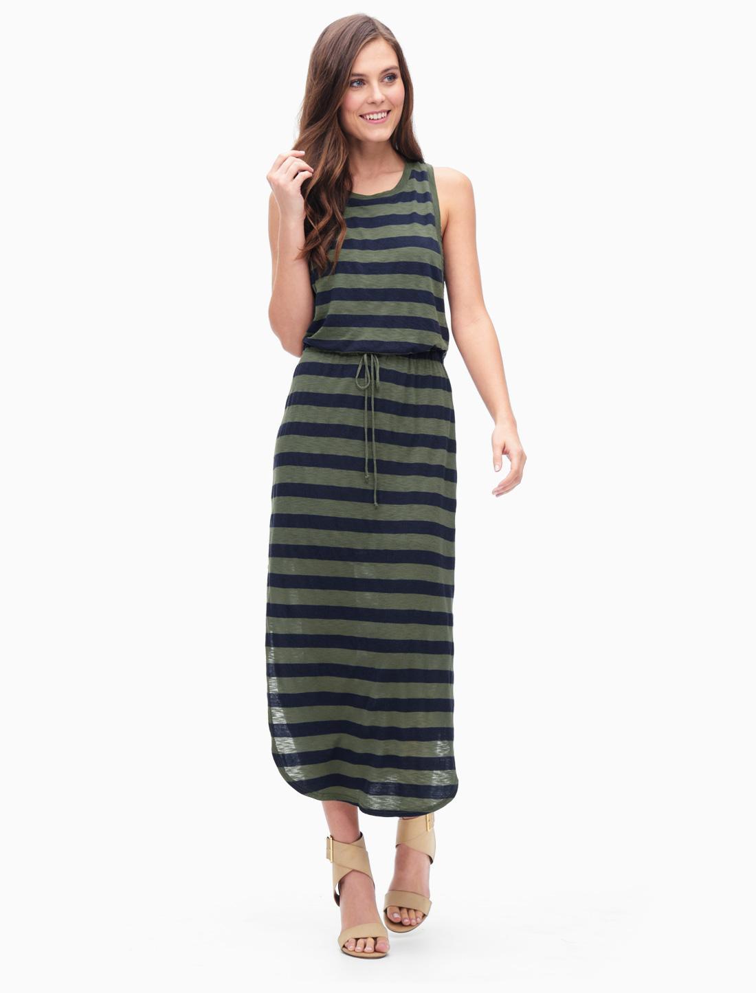 Elbow length sleeve splendid maxi dress