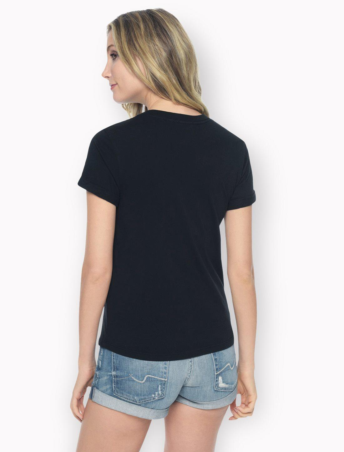 Splendid Baby Jersey Shrunken Tee in Black