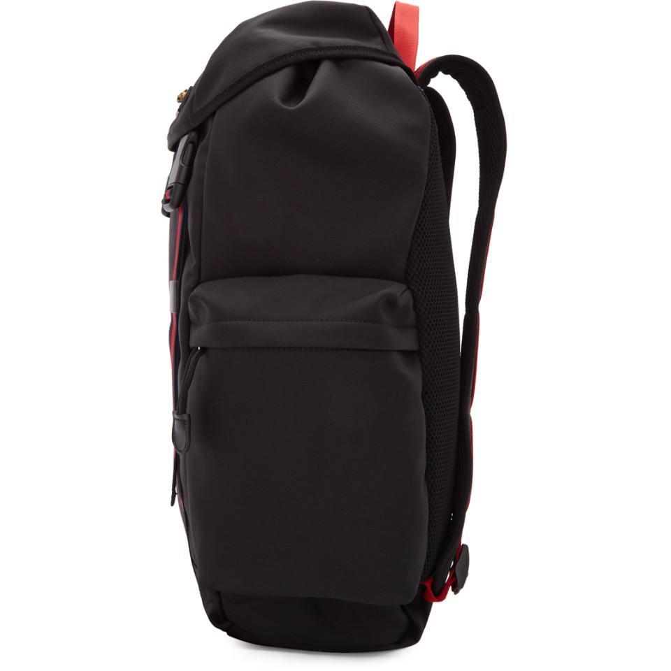 417c78ea45bc Gucci Black Medium Technical Backpack in Black for Men - Save 40% - Lyst