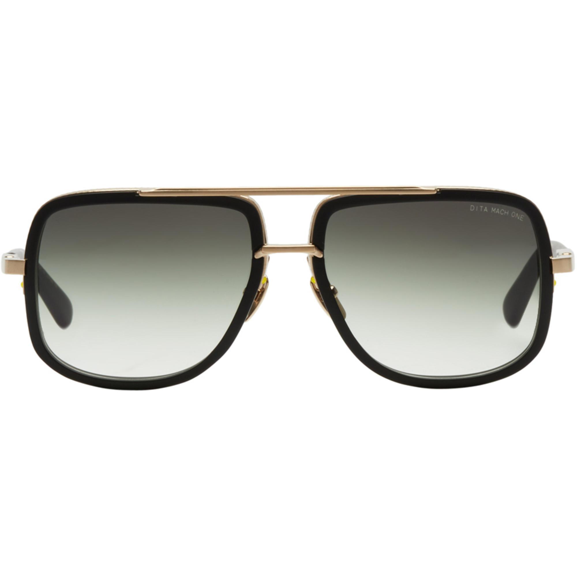 9af4a449e056 DITA Black And Gold Mach One Sunglasses in Black for Men - Lyst