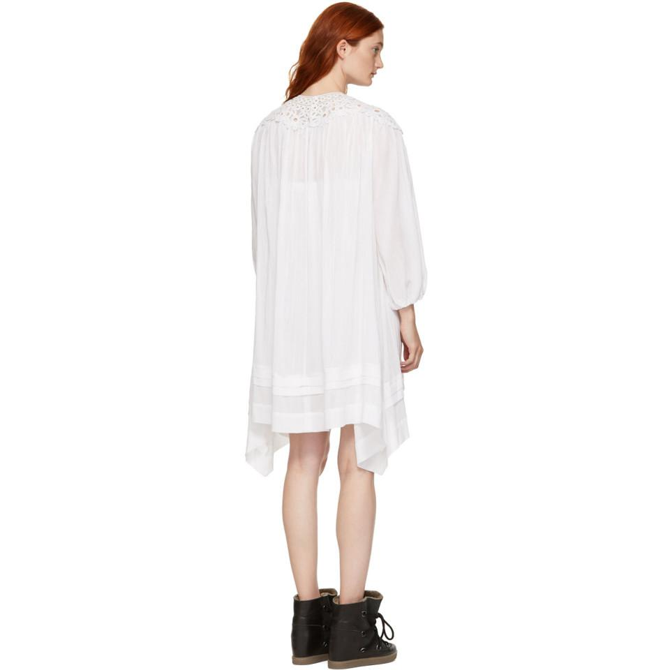 White Rita Dress Isabel Marant AqTqCUwds