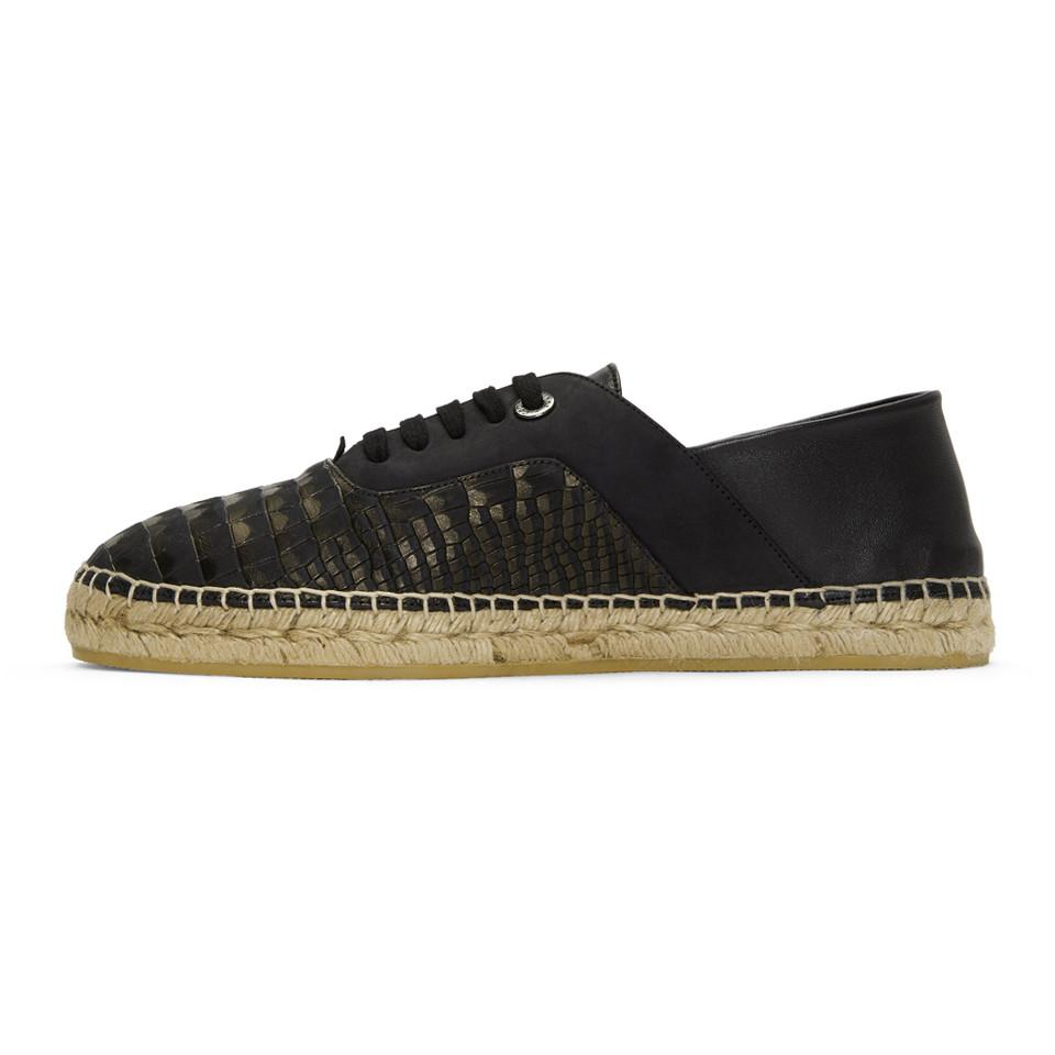 Jimmy choo Nubuck Croc Luke Espadrilles Marketable 100% Authentic Online Cheap For Cheap Cheap Sale Low Shipping KQ00iMg8b