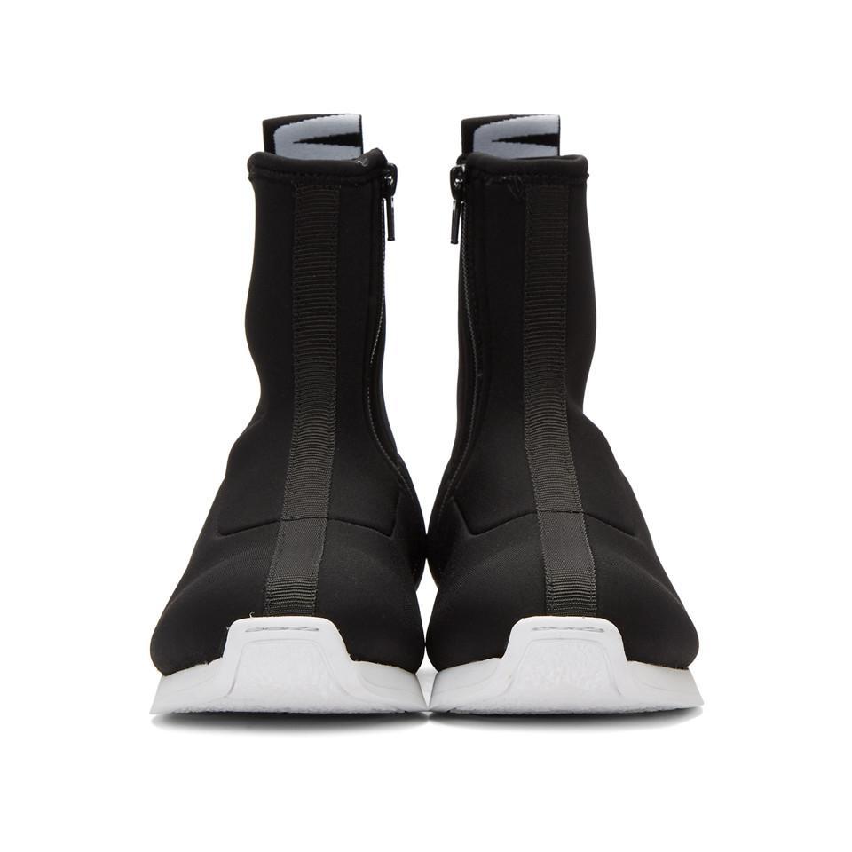 Versus Logo Sock High-Top Sneakers Hkqwh2W