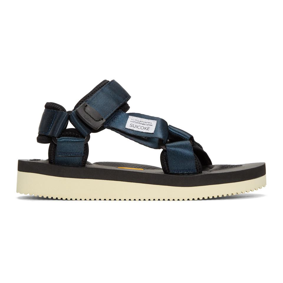 3fe5170b3dd6 Lyst - Suicoke Navy Depa-v Sandals in Blue for Men