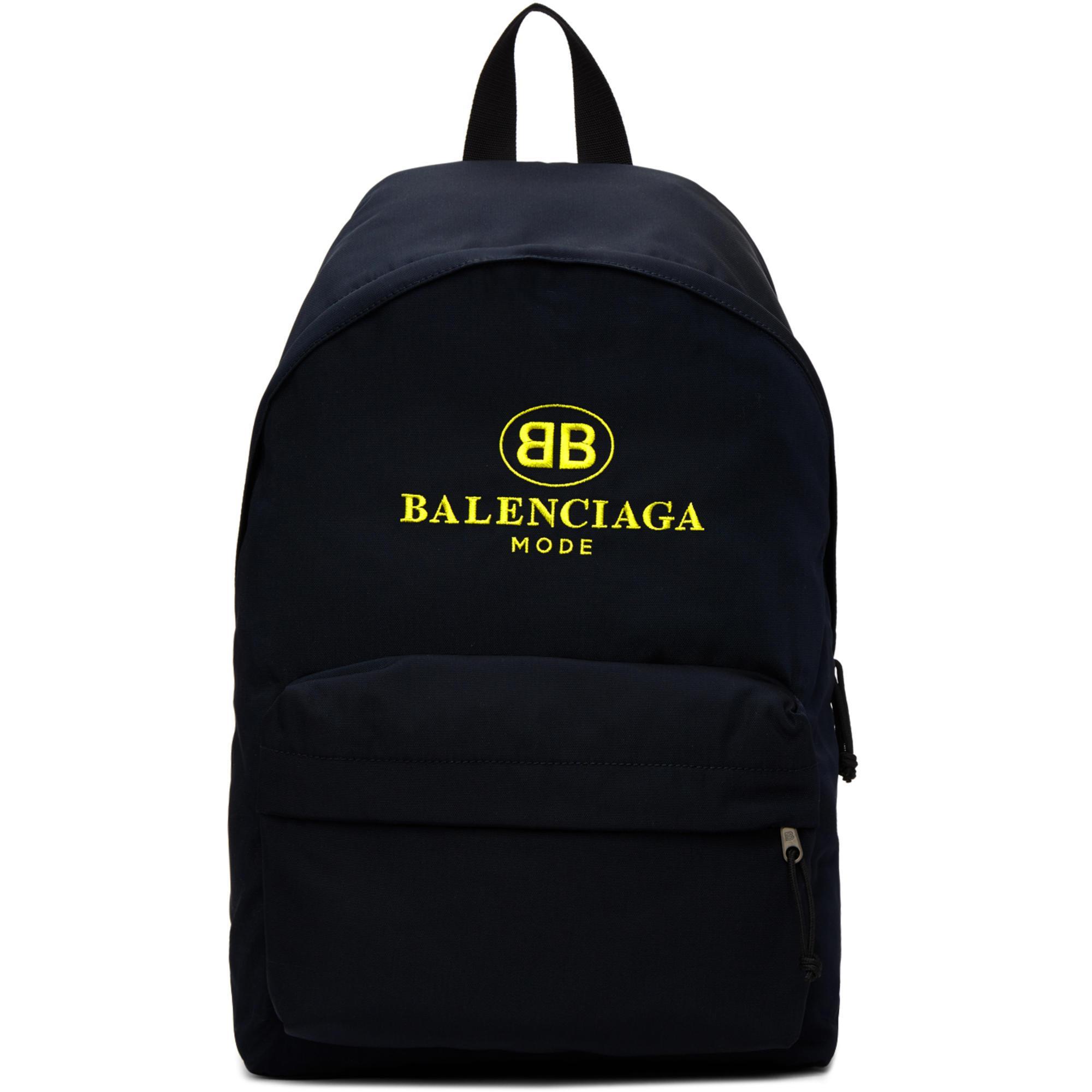 Balenciaga Sac à Dos à Patch Logo k0Jhe