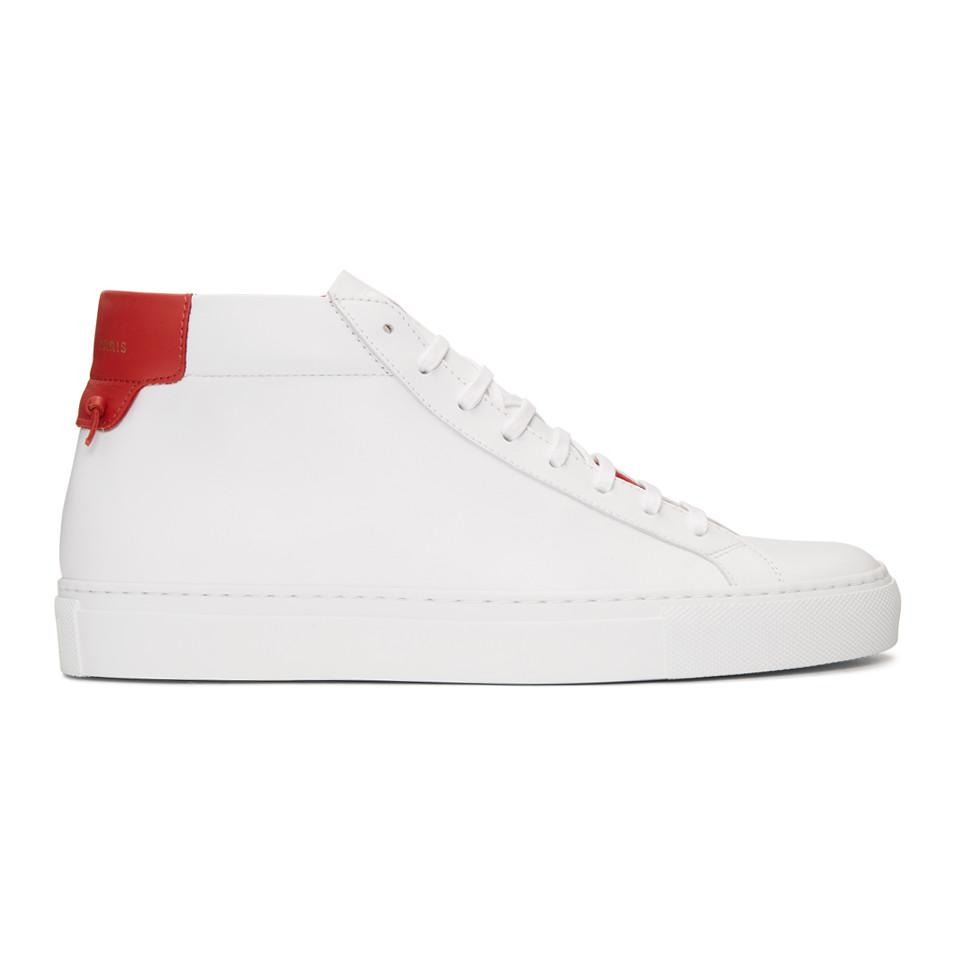 White and Black Urban Knots Mid-Top Sneakers Givenchy Discount Comfortable Outlet Official Site n2agSBUlYC