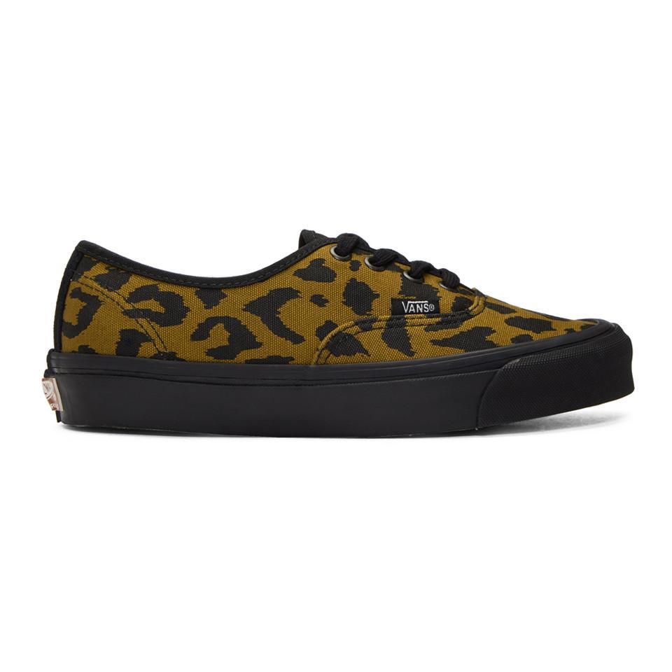 e1ae5bcd851674 Lyst - Vans Leopard-print Og Authentic Lx Sneaker for Men