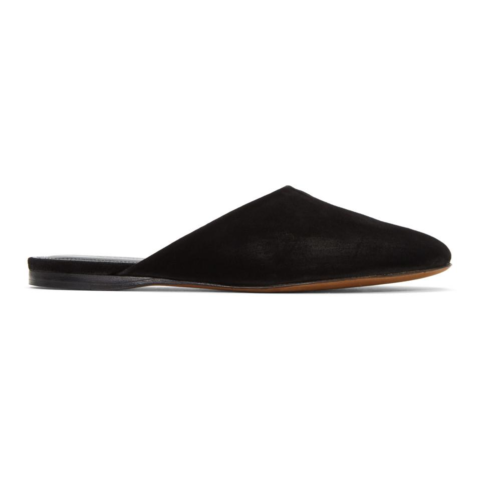 Alumnae Suede Round-Toe Mules sale get to buy If6t6kIHL