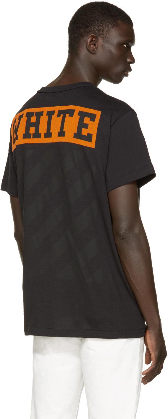2762ebe7ba Lyst - Off-White c o Virgil Abloh Black   Orange Box T-shirt in Orange for  Men