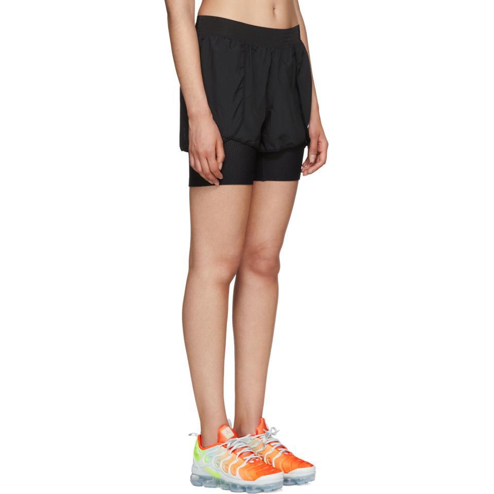 db4dd5ccd5f8 Lyst - Nike Black Flex Bliss Gym Shorts in Black