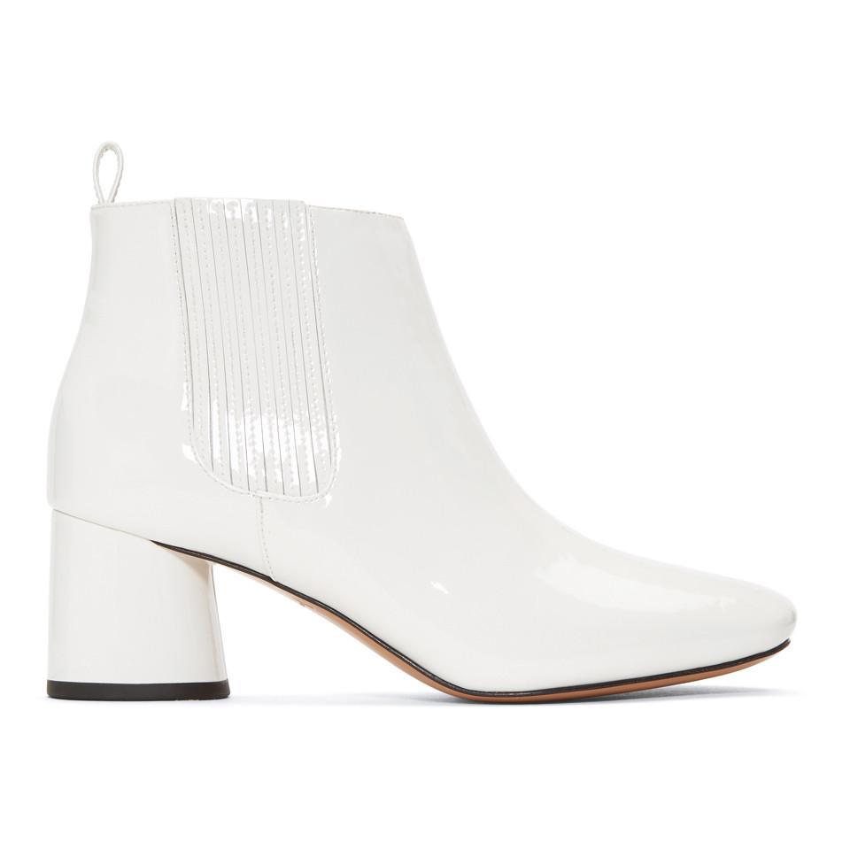Marc Jacobs Patent Rocket Chelsea Boots