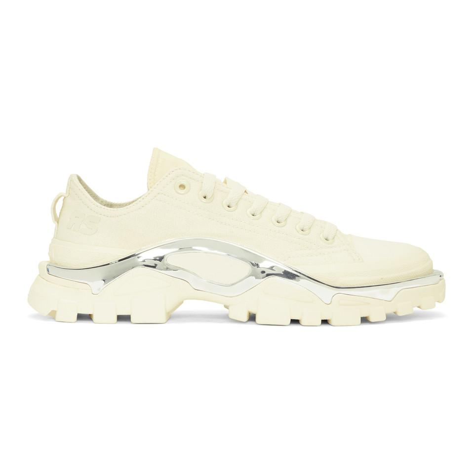 904880fba72a2 Raf Simons. Women s White Adidas Originals Edition Rs Detroit Runner  Trainers