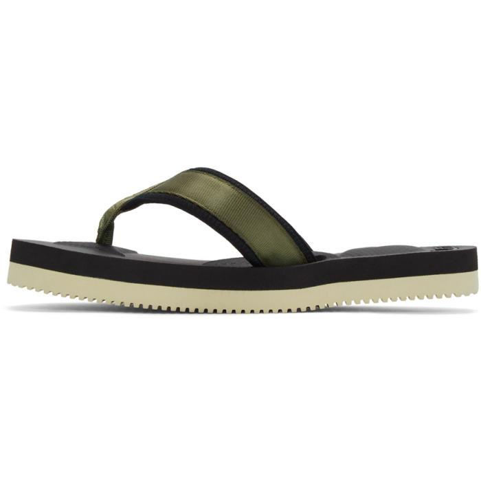 1f4313909abe Lyst - Suicoke Green Tono V2 Flip Flop Sandals in Green for Men