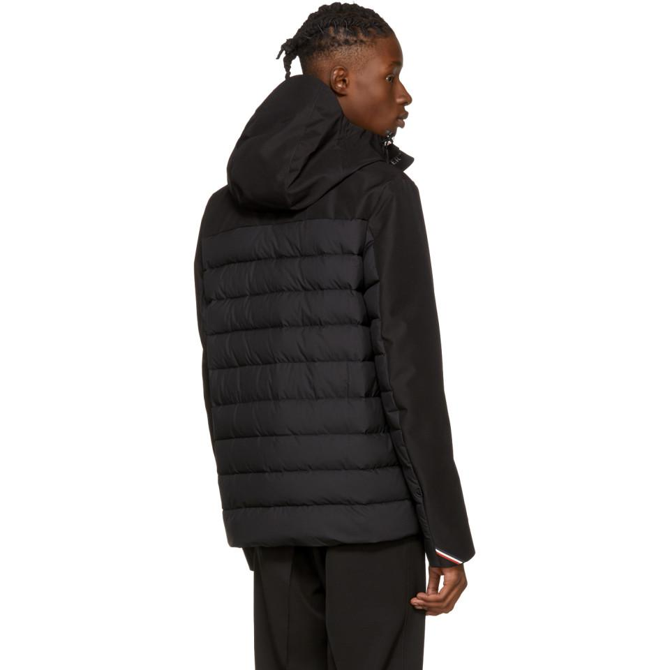 Lyst Moncler Grenoble Black Down Bessans Jacket In Black