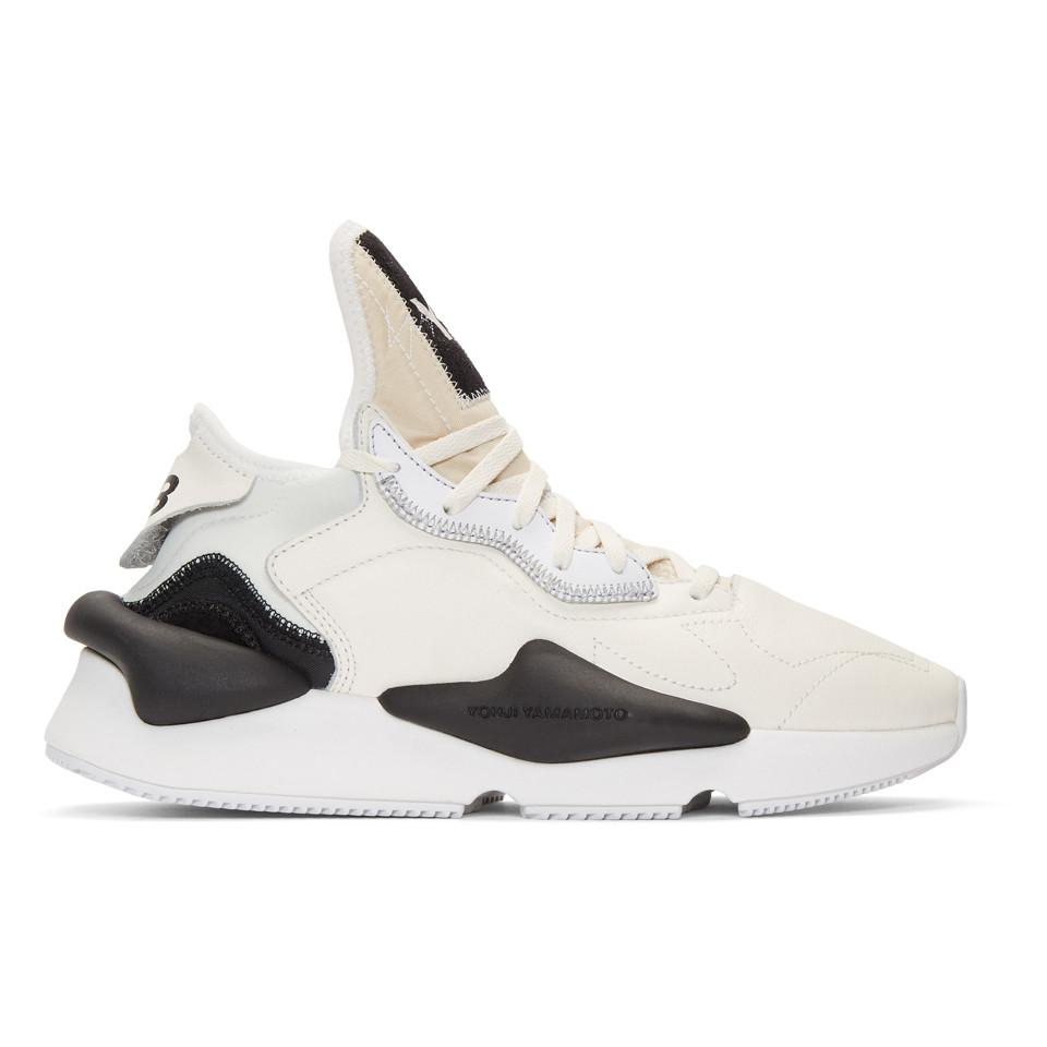 Y-3 Kaiwa Sneaker in White for Men - Save 11.08108108108108% - Lyst df40f889c