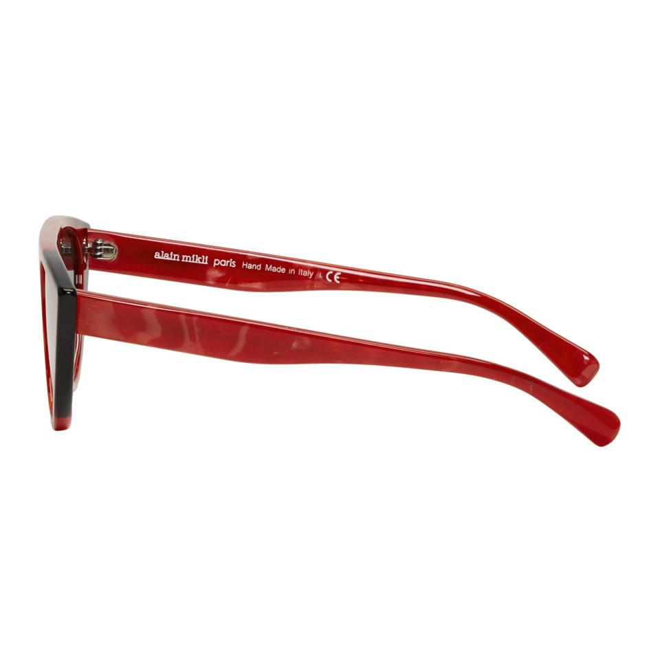 Lyst - Oliver Peoples Red Miss J Sunglasses in Red for Men - Save 62%