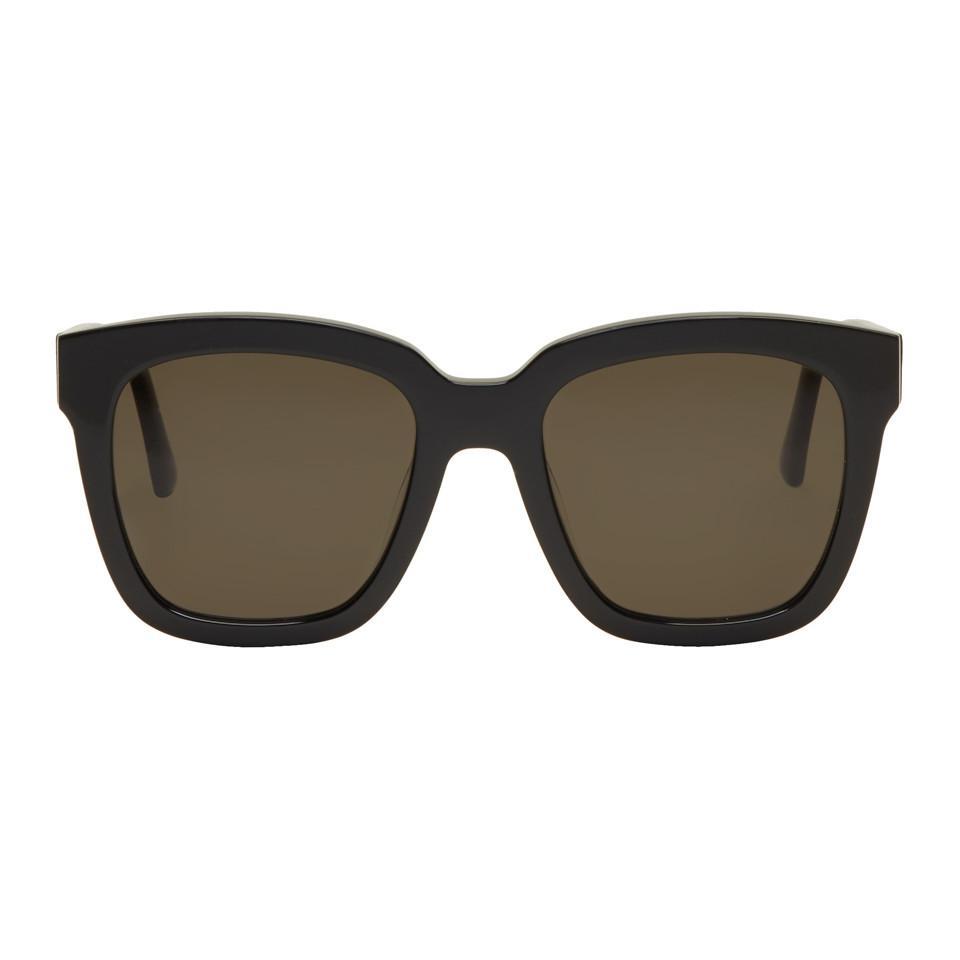 1e53d5b830ec Gentle Monster Black Large Dreamer Hoff Sunglasses in Black - Lyst