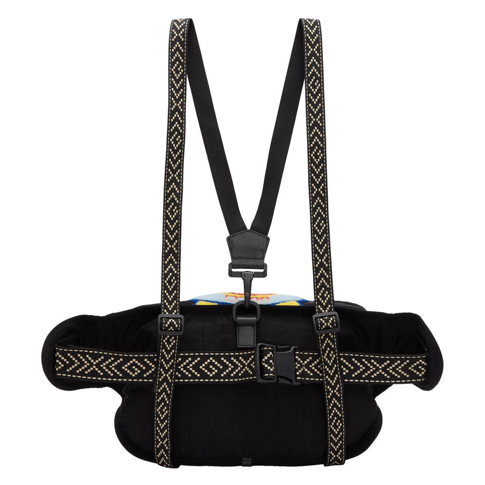 10becf9bd1c Gucci - Black 80s Patch Belt Bag for Men - Lyst. View fullscreen
