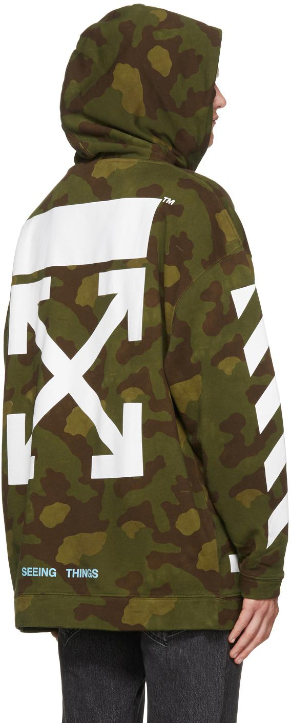 Image result for Green Camo Diagonal Arrows Over Hoodie