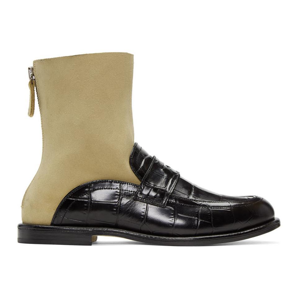 Date De Sortie Réduction À La Vente Loewe Black & Navy Sock Boots Exclusif À Vendre Acheter À Bas Prix De Nouveaux Styles Réduction De 100% Garanti H7GFOtLA