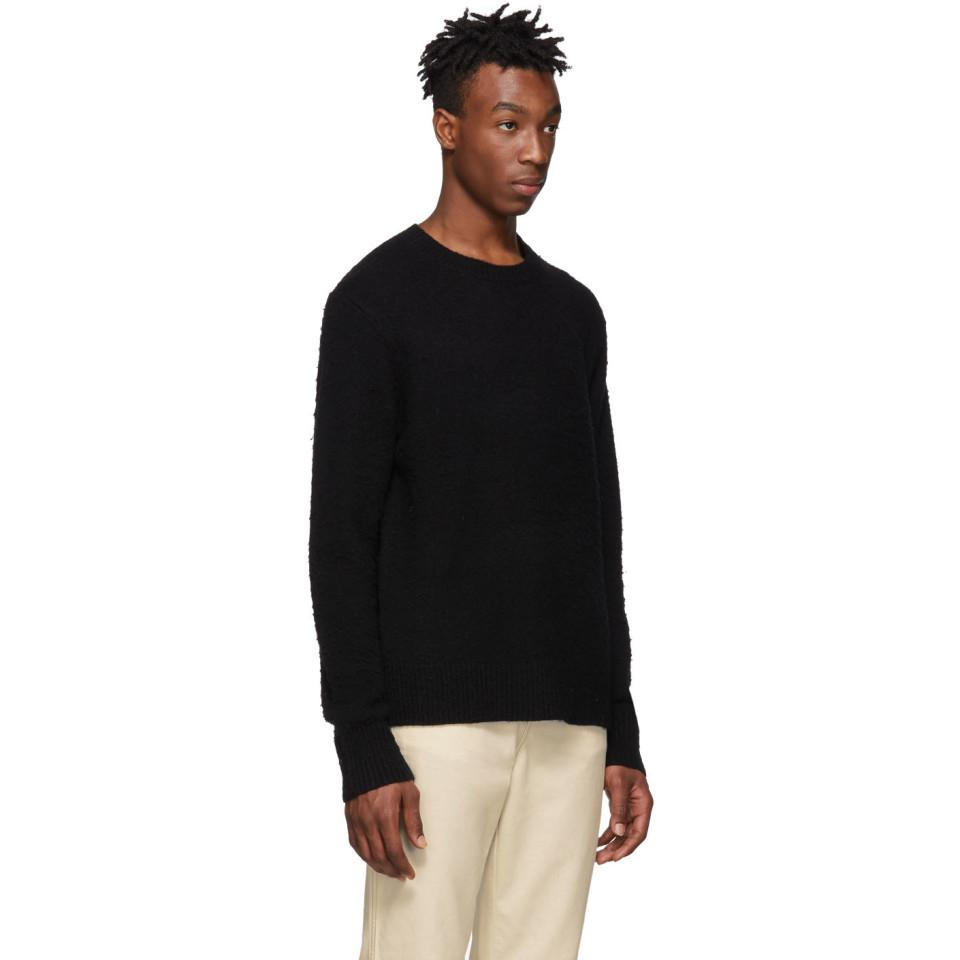 Acne - Black Peele Sweater for Men - Lyst. View fullscreen 56113ab7910