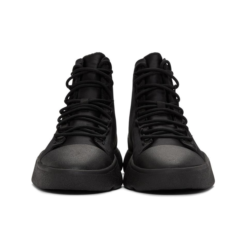 2f6cc66951a88 Lyst - Y-3 Black James Harden Bashyo Sneakers in Black for Men
