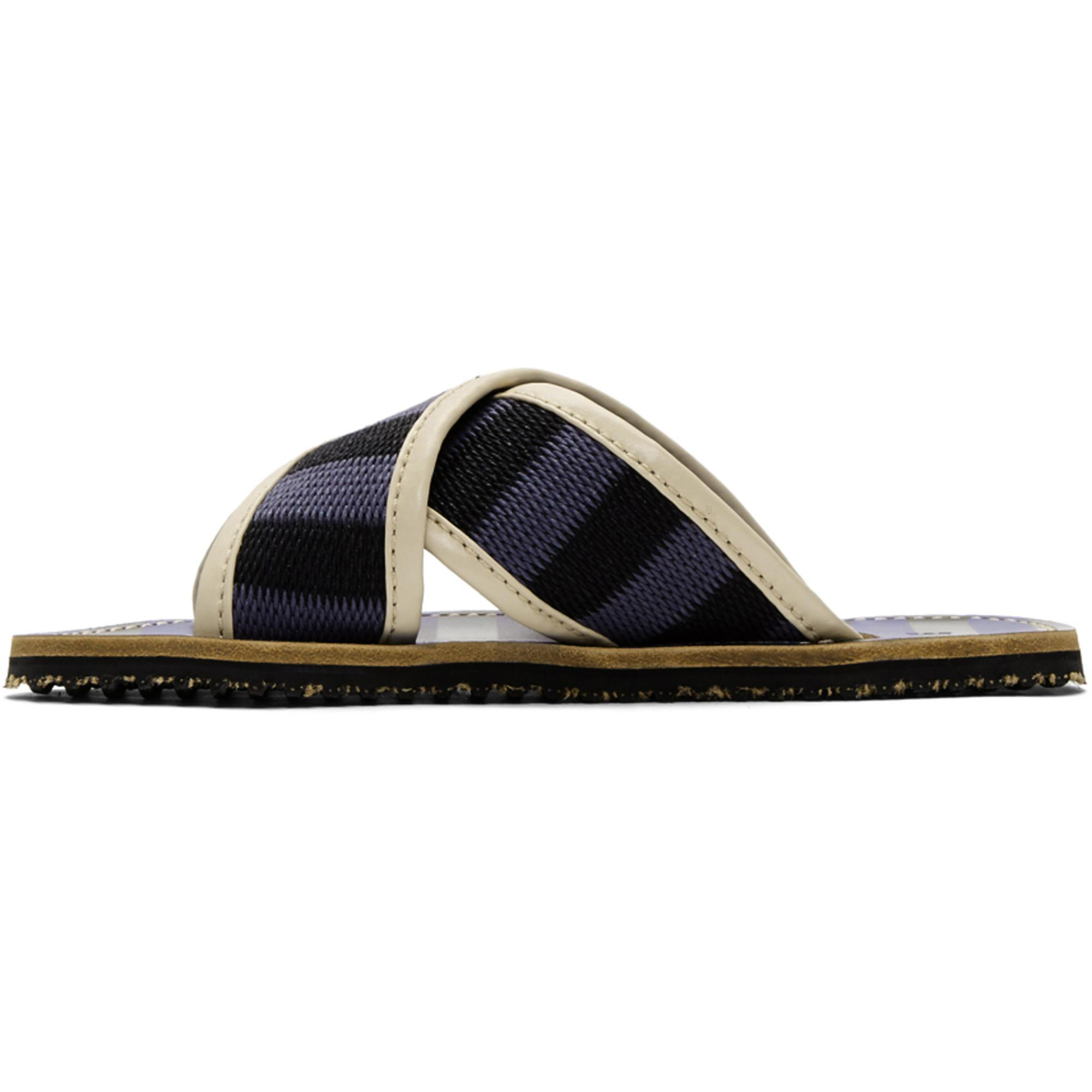 Marni & Striped Nastro Sandals oE9fOUKiBq