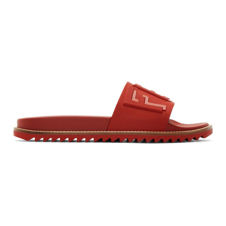 Fendi & Rubber ' Vocabulary' Sandals suOBEvJ9mN