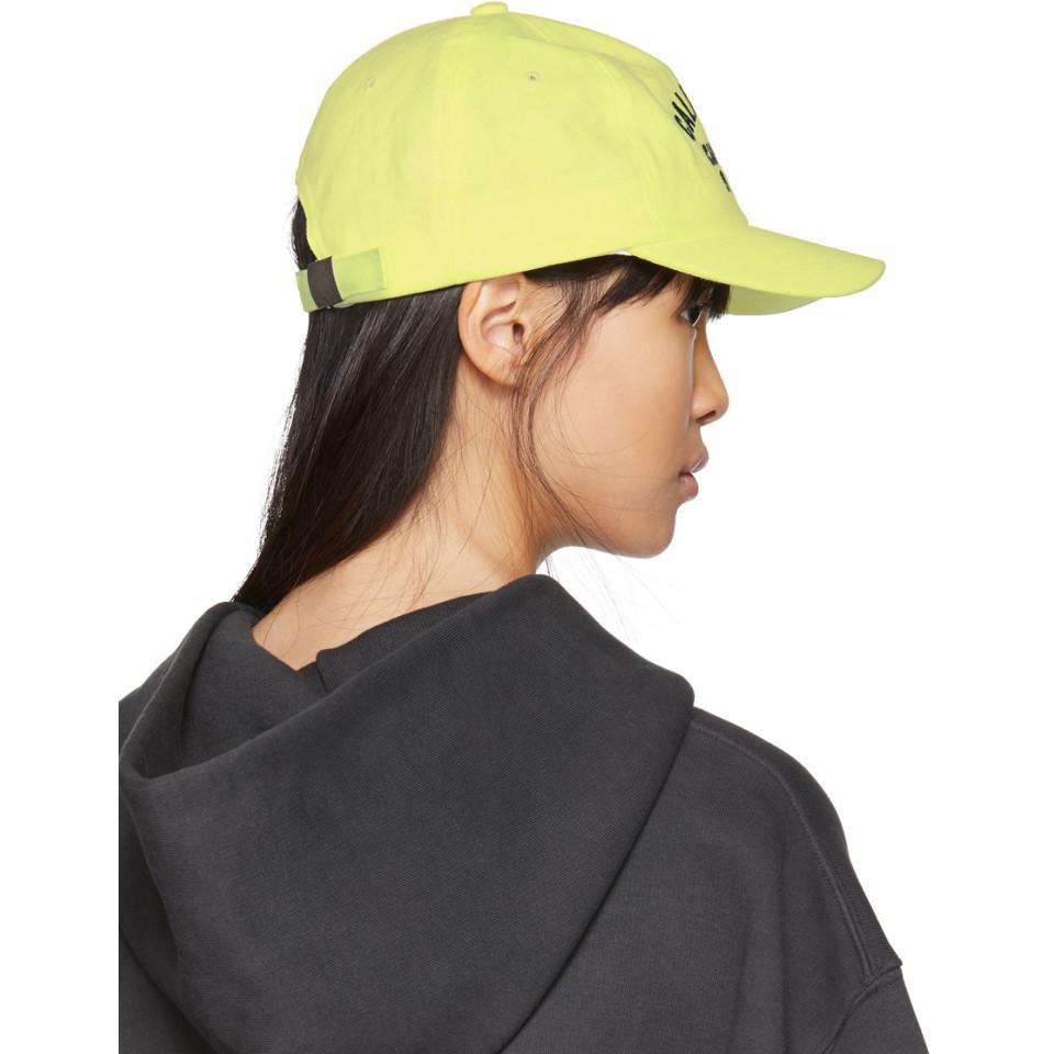429b5fafa09 Lyst - Yeezy Yellow Calabasas Cap in Yellow