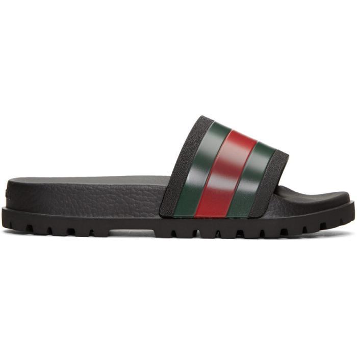 6872efabf5eb5a Lyst - Gucci Tricolor Pursuit Trek Stripes Sandal for Men