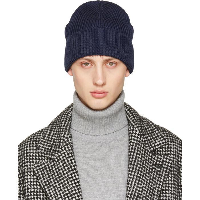distressed rib knit beanie - Grey Maison Martin Margiela GtoBUsukz