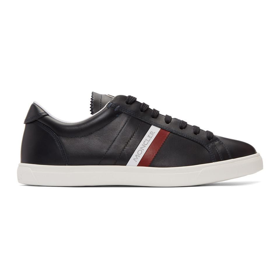 MonclerNavy La Monaco Sneakers KGXFj