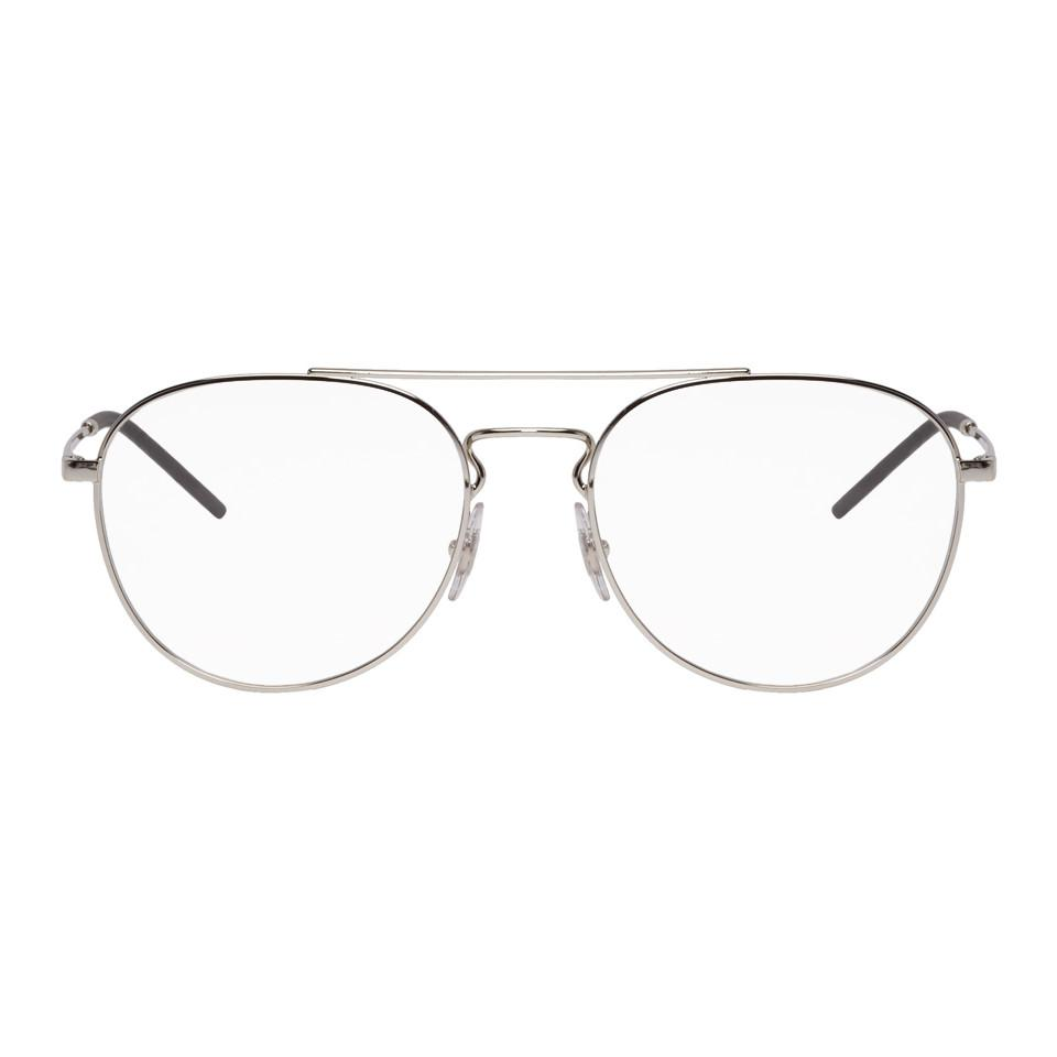 lyst ray ban silver youngster glasses in metallic for men Ray-Ban Sunglasses Case ray ban