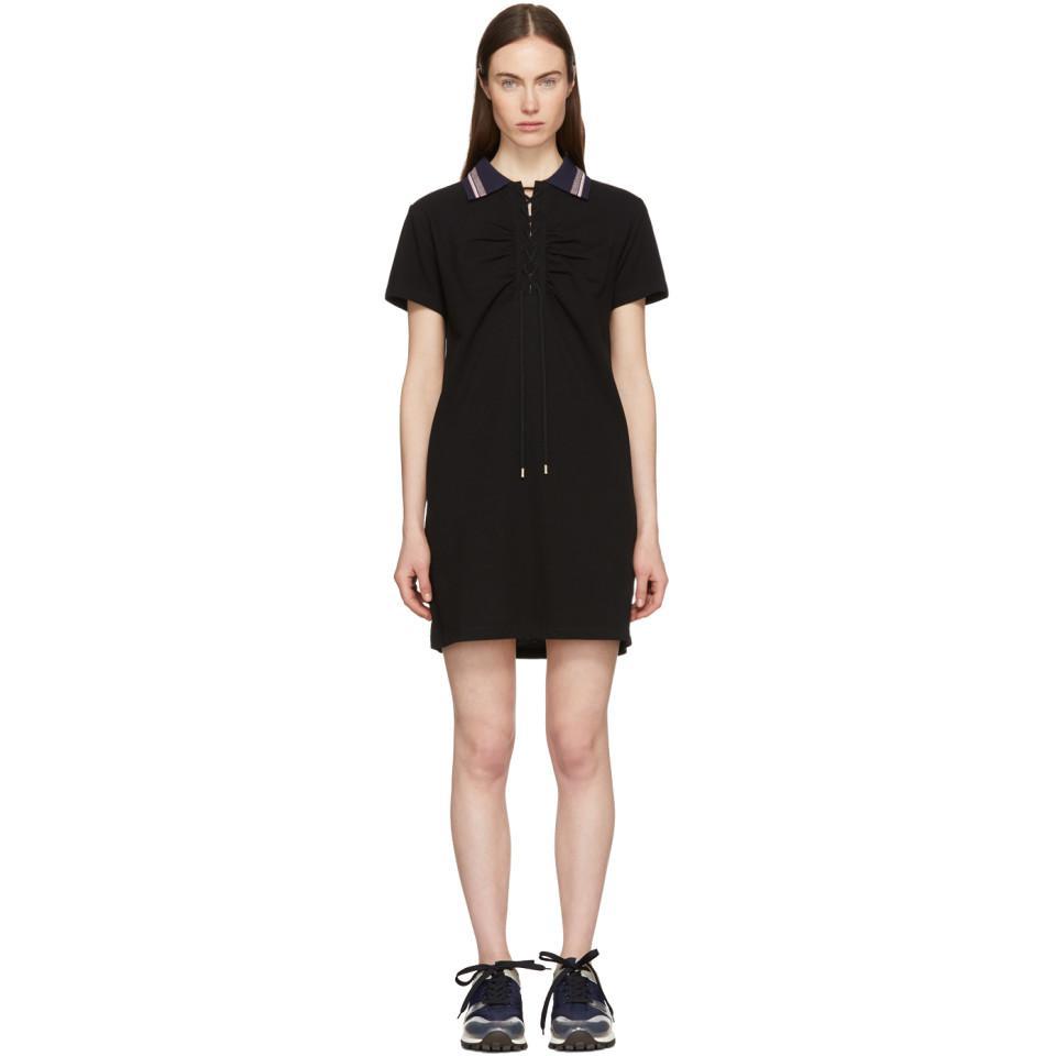 Black Polo Dress Carven 64o6AEeh