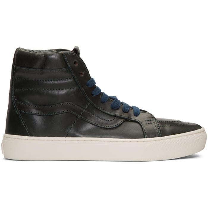 Leather Sk Hi Cup Shoes