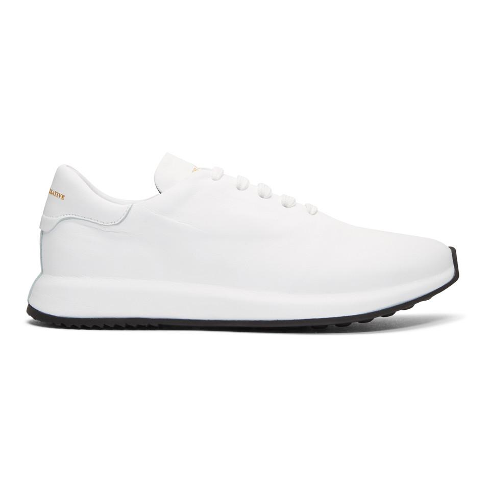 Officine Creative White Race 1 Sneakers 86sCfcW84O