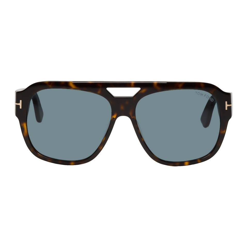 52ffe9995c Tom Ford - Multicolor Tortoiseshell Bachardy-02 Sunglasses for Men - Lyst.  View fullscreen