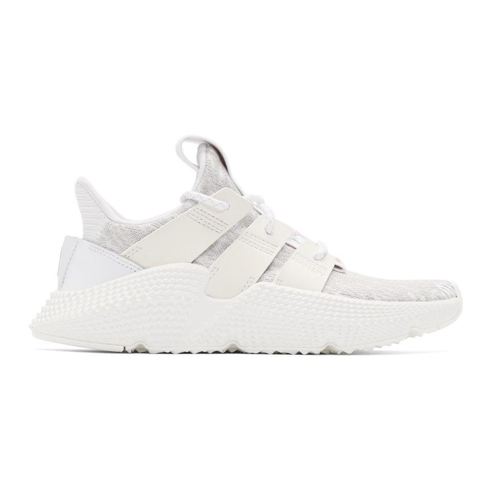 Lyst adidas originali bianco prophere scarpe in bianco per gli uomini.