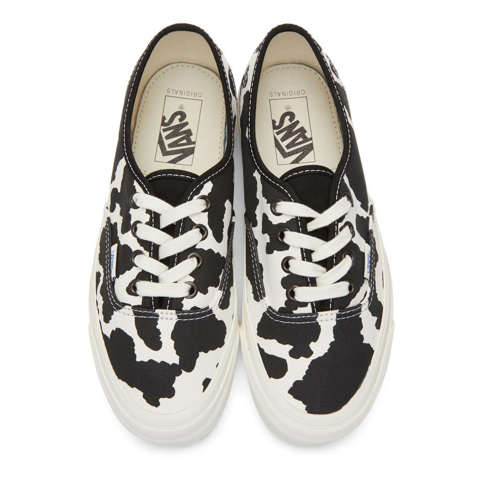 Pour Baskets Vans Lx Et Cow Blanches Og Lyst Authentic Noires zR1wqHRS