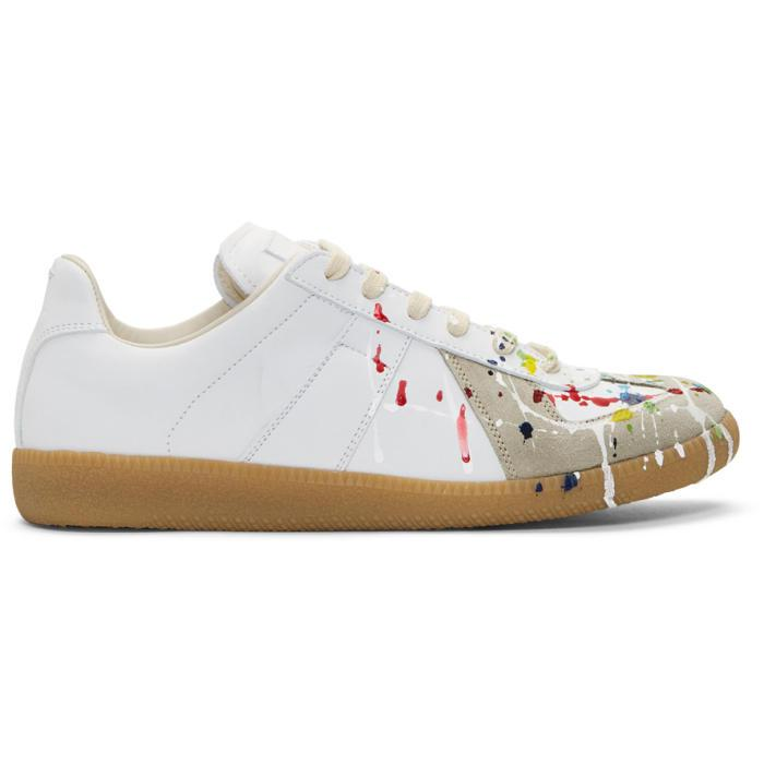Paint Off Leather Shoes