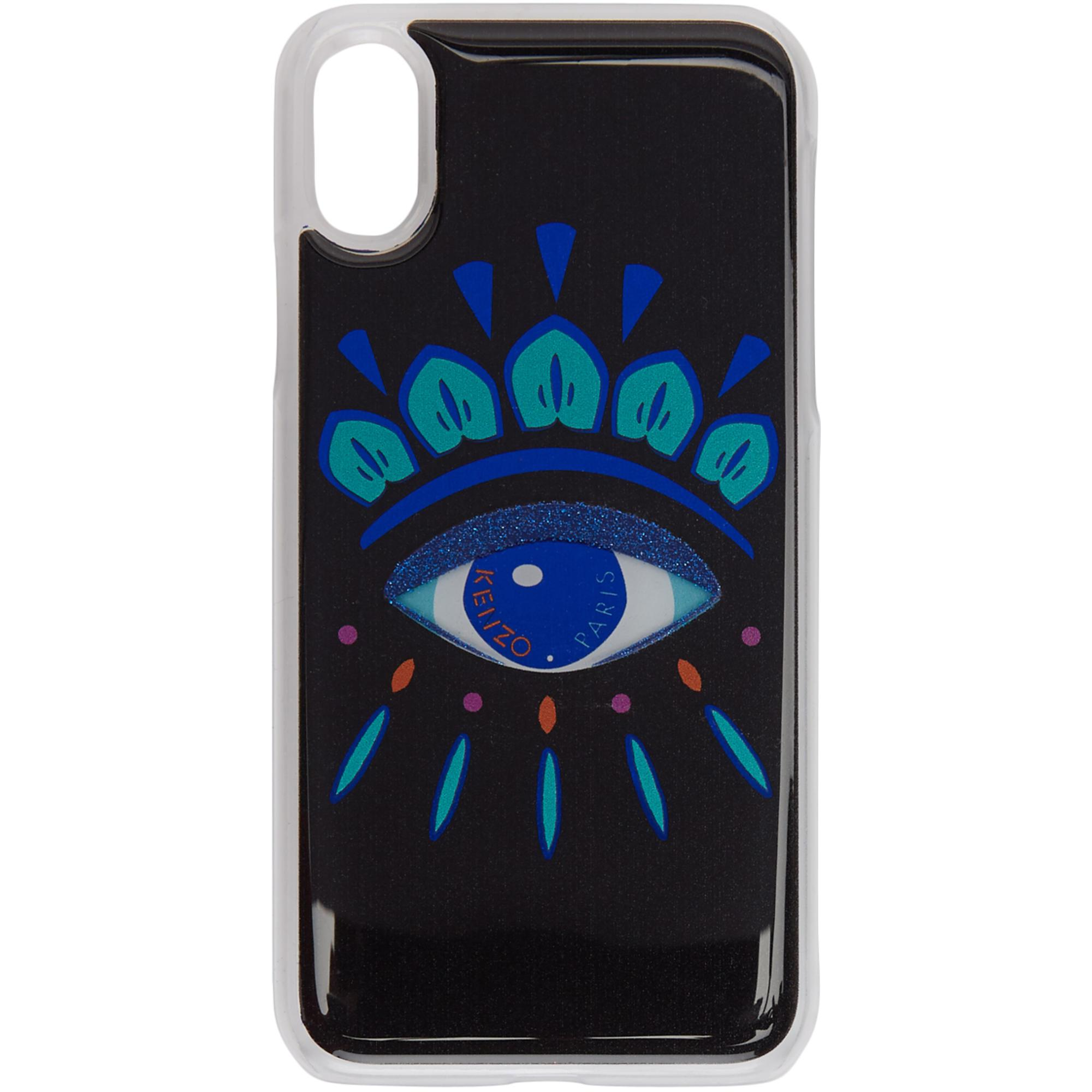 39b55188 KENZO Black Eye Iphone X Case in Black - Lyst