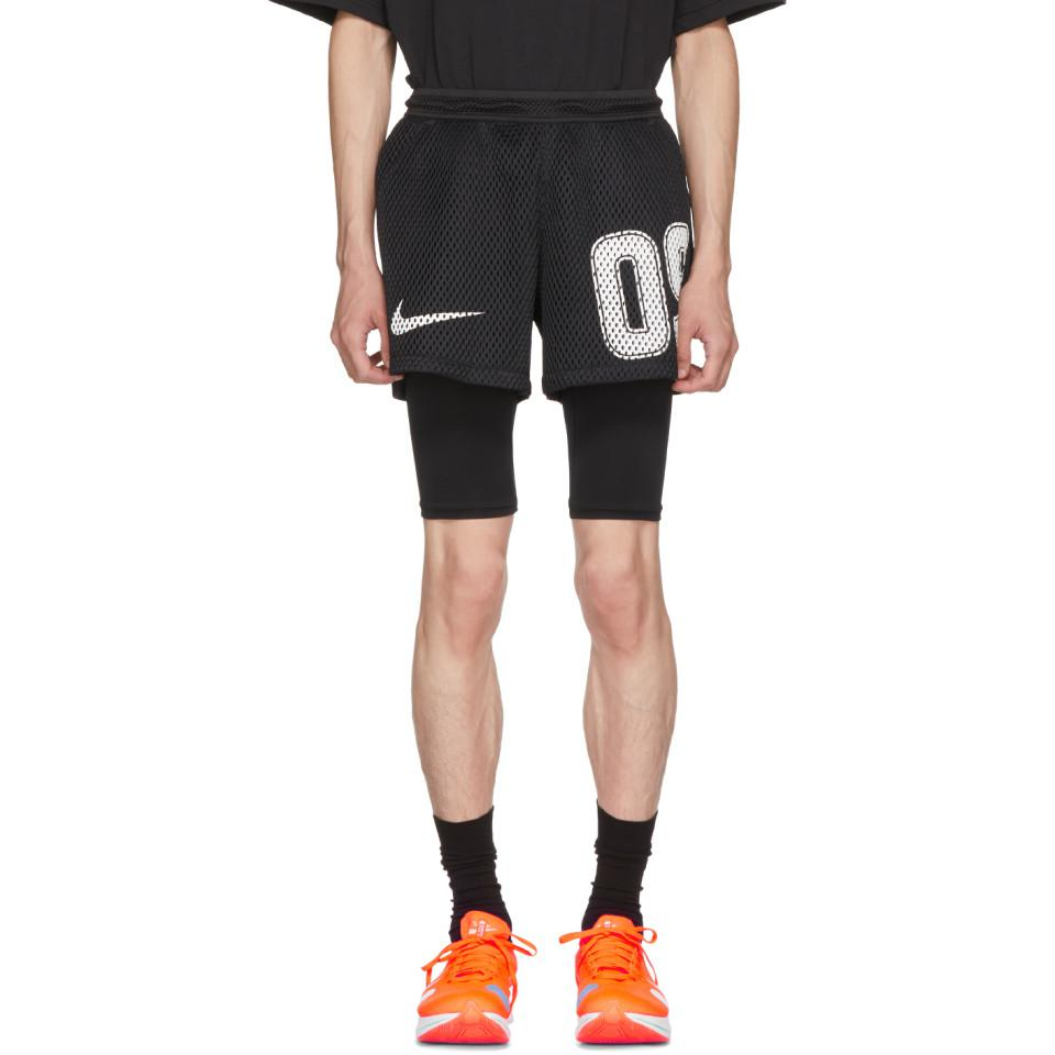huge selection of abfa1 222fa Nike Black Off-white Edition M Nrg Carbon Home Shorts in Black for ...