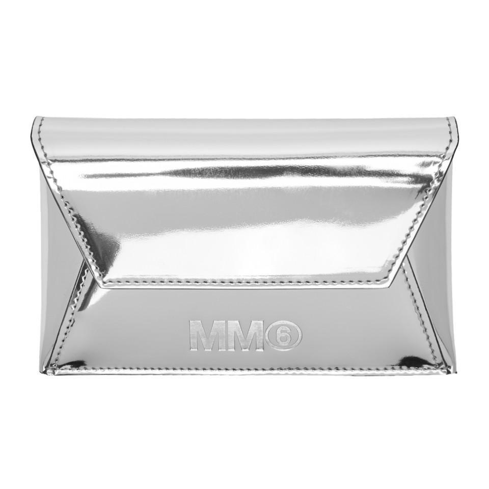 Silver Fold Over Clutch Maison Martin Margiela TJewc4zNd