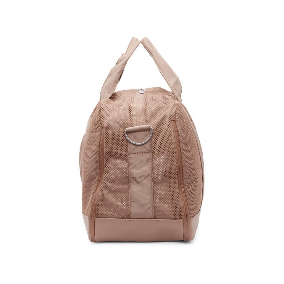 2ac4a46ee6a0 Lyst - adidas By Stella McCartney Pink Yoga Duffle Bag in Pink
