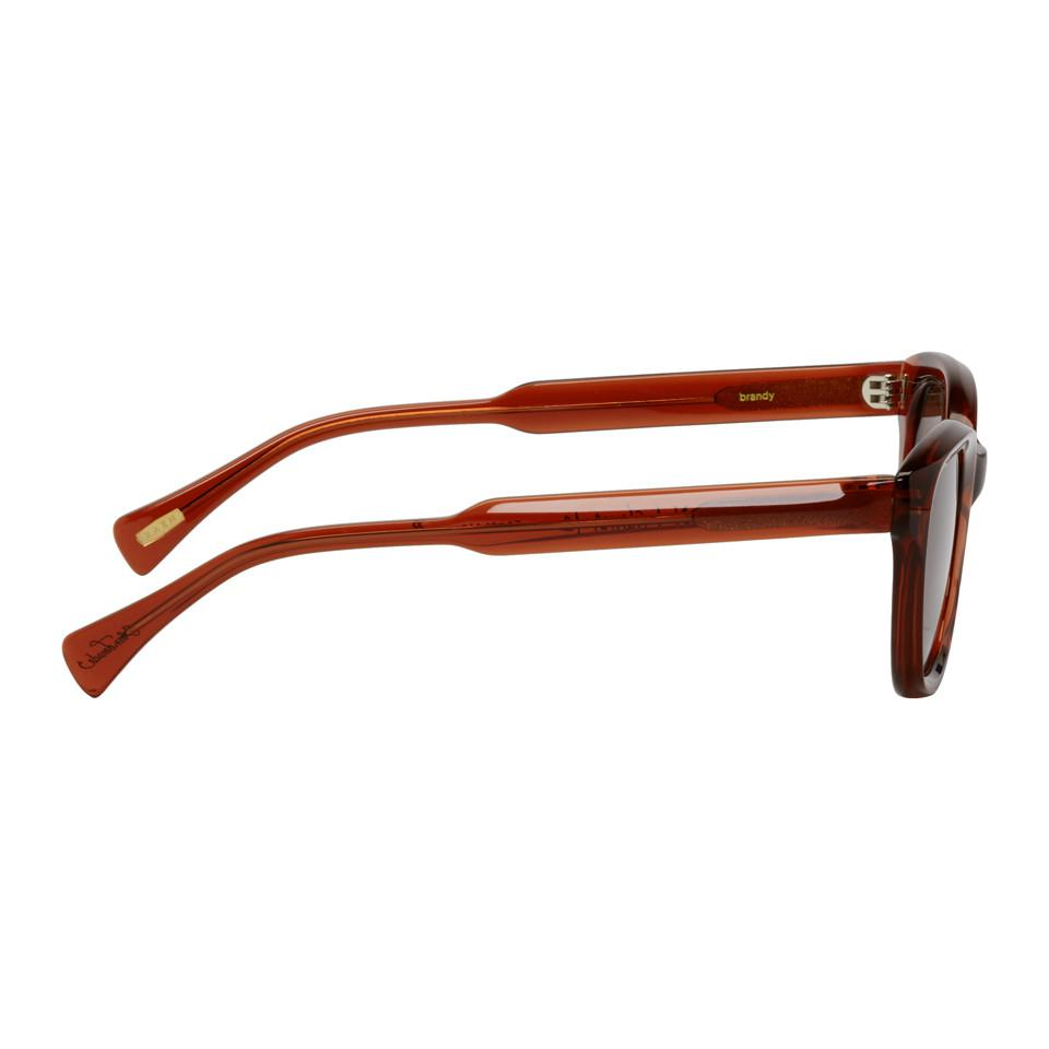 390ce8a373 Lyst - Raen Pink Clemente Sunglasses in Brown for Men