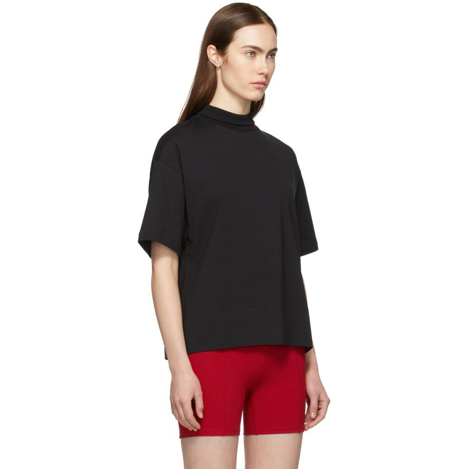 b2888d8d4f7 Acne Studios Black Mirka E Base T-shirt in Black - Lyst