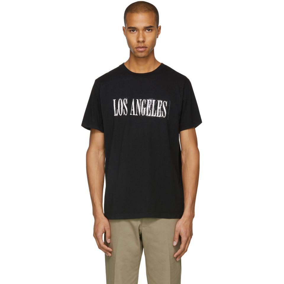 Acheter Pas Cher Avec Mastercard Stockiste En Ligne NOON GOONS Black Los Angeles T-Shirt mhIgyk