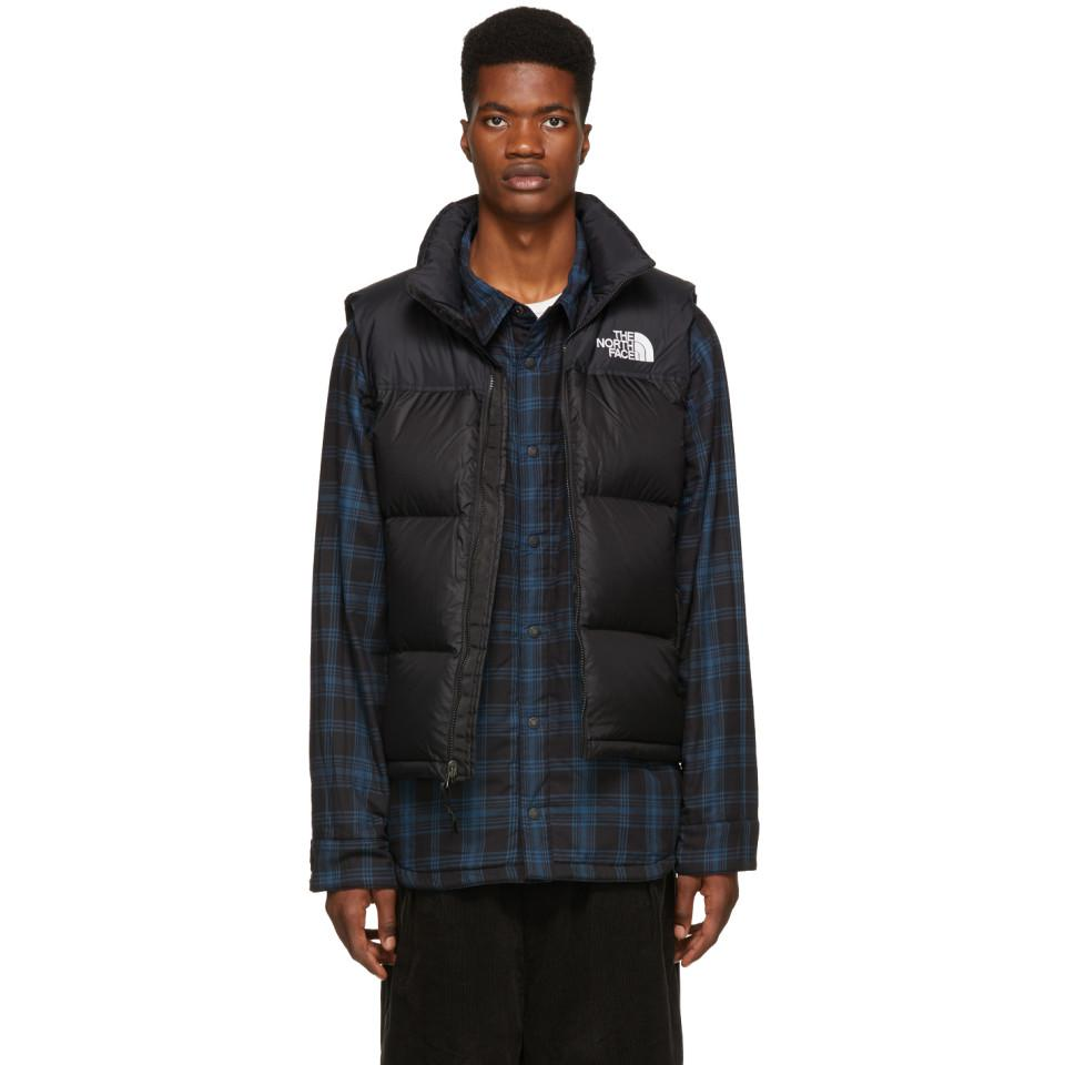 dcf779f7f16 Lyst - Veste en duvet noire 1996 Retro Nuptse The North Face pour ...