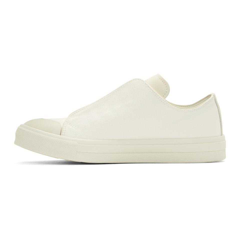 Alexander McQueen Ivory Embroidered Iris Sneakers E8ldmpf
