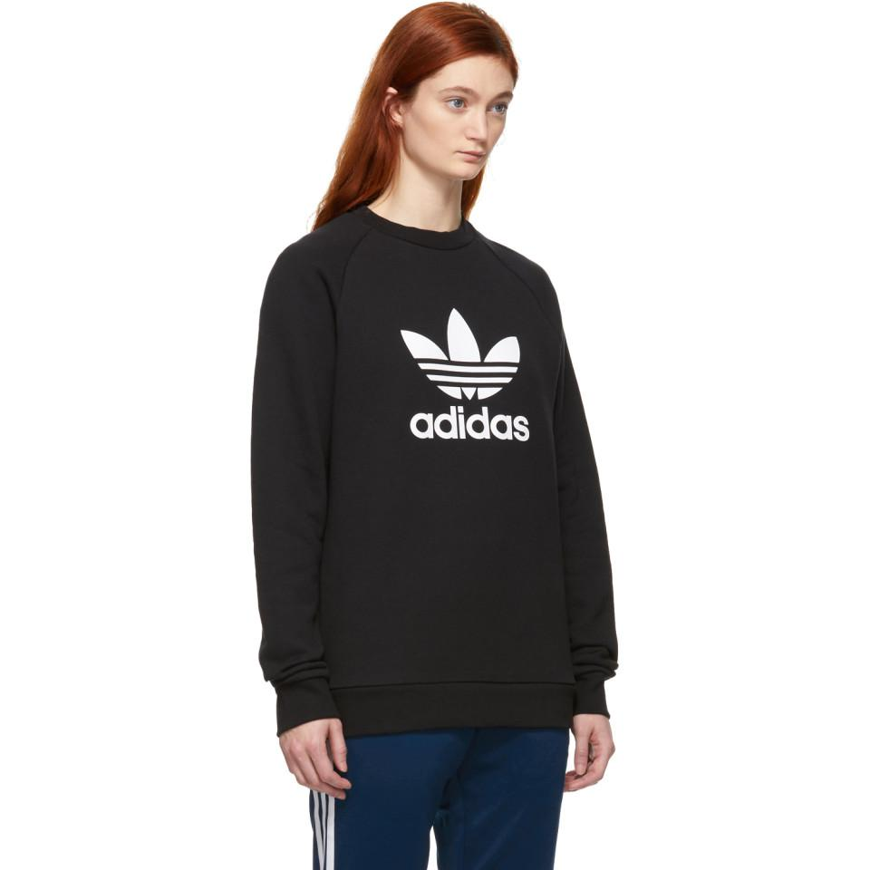 Adidas Pull Up Noir En Warm Originals Lyst Trefoil Molletonne WHYe9IE2D